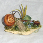 Country Artists Natural World Snail on Stone (Collectors Guild Dawn Chorus Piece)