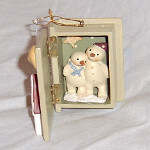 Russ Berrie Keepsake Ornament - Our First Home