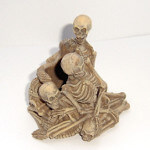 Tudor Mint Land of the Dragons Skeleton Candlestick Holder